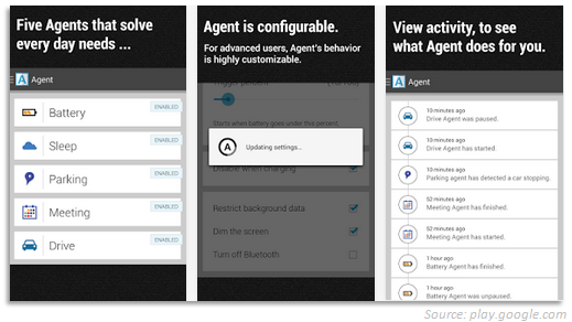 Android app Agent